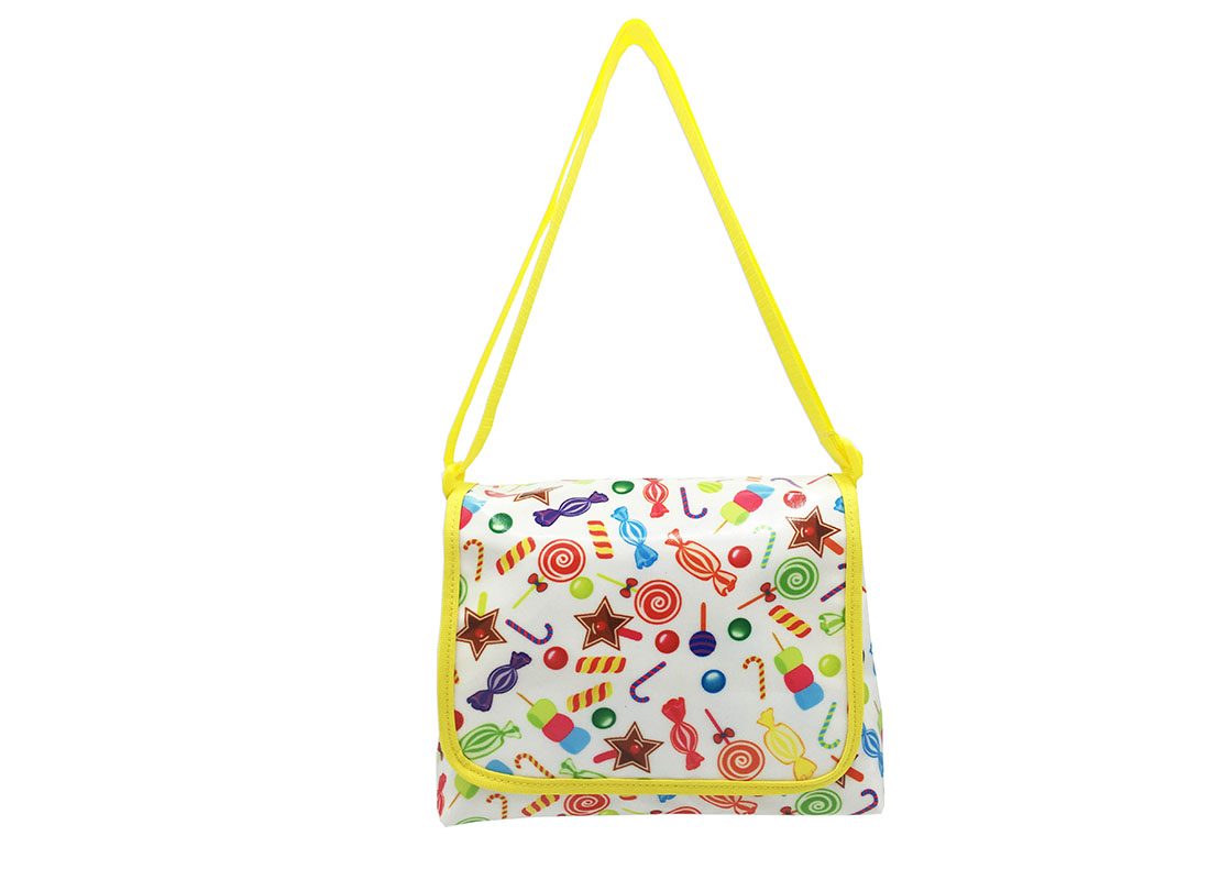Mini Shoulder Bag with candy printing
