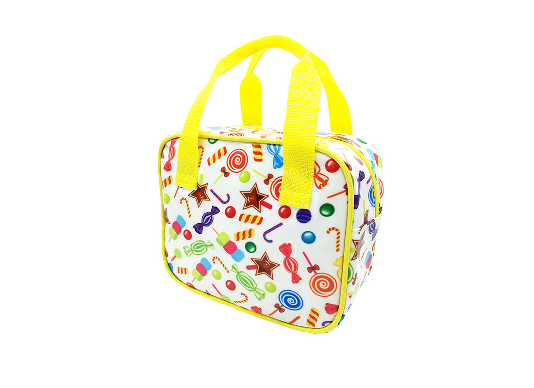 Square Shaped Bag with Candy Printing R side