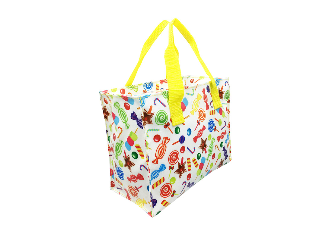 Square Shaped Tote Bag side