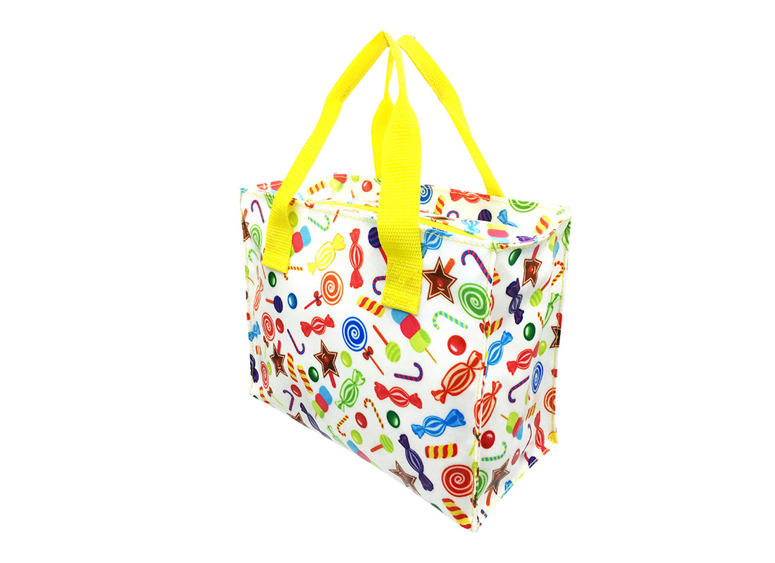 Square Shaped Tote Bag R side