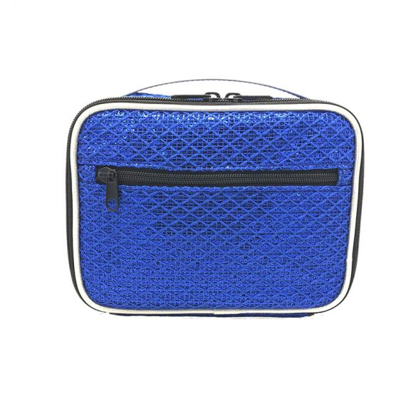 Sequin Pouch in Blue