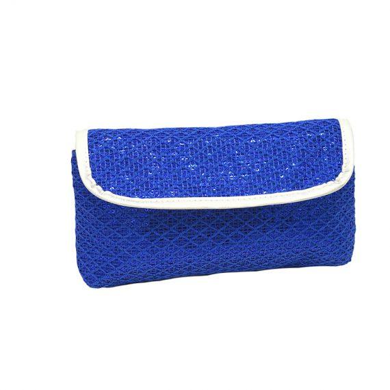 Sequin cosmetic bag for eyelash pencil