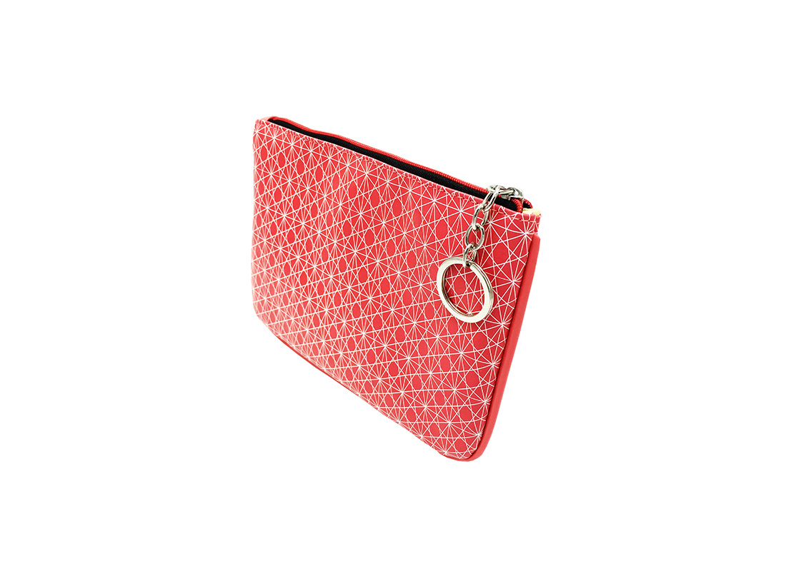small pouch in pink side