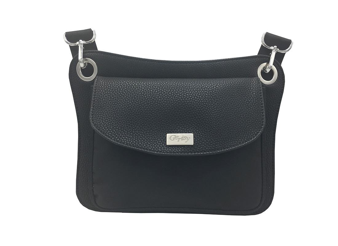 Women Waist Bag in Black