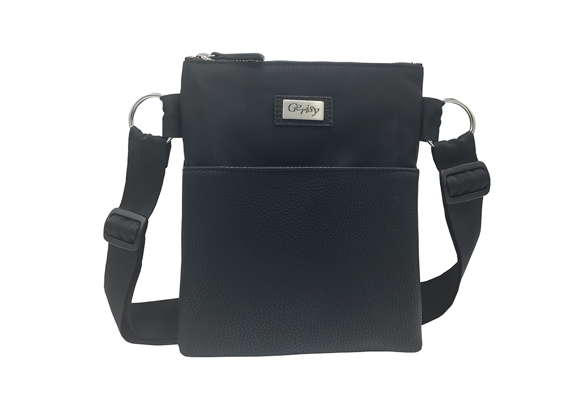 Large Waist bag in Black for women