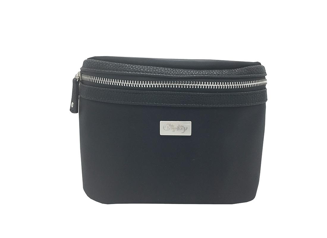 Women waist bag Large in black color