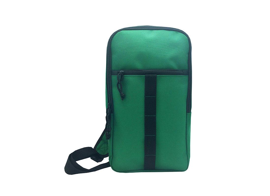 Sling bag for men in green