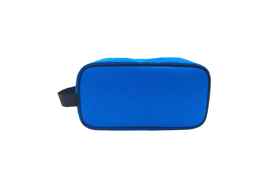 Small toiletry bag in blue