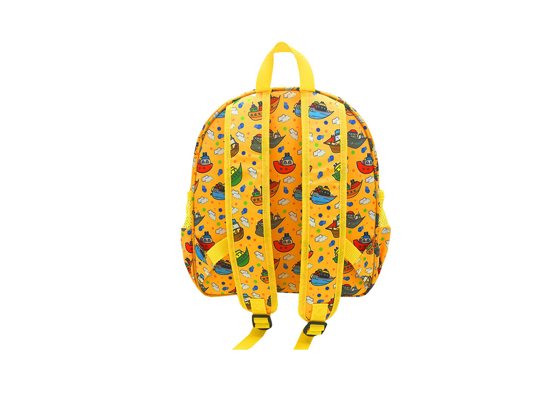 Children Backpack with ship printing back