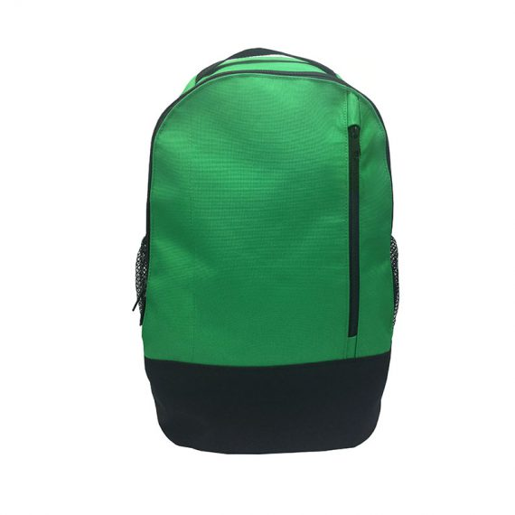 Backpack in green color