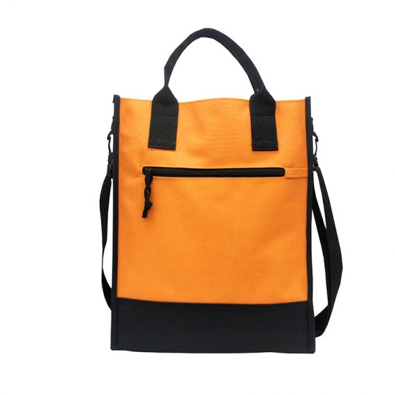 Document bag for A4 documents in Orange