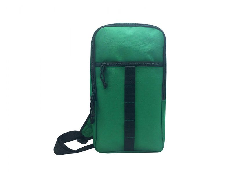 Sling bag for men in green