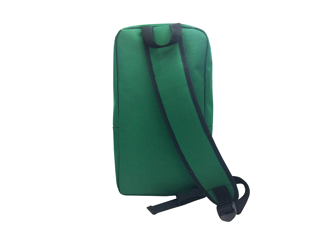 sling bag for men in green back