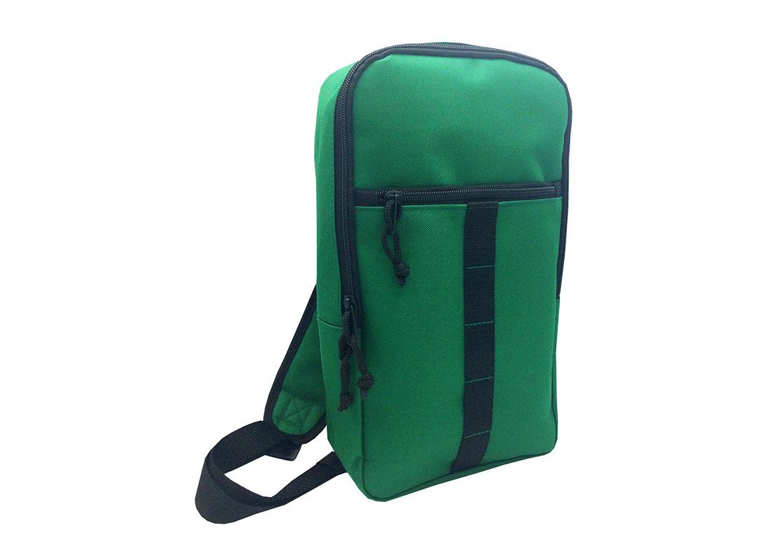 sling bag for men in green L side