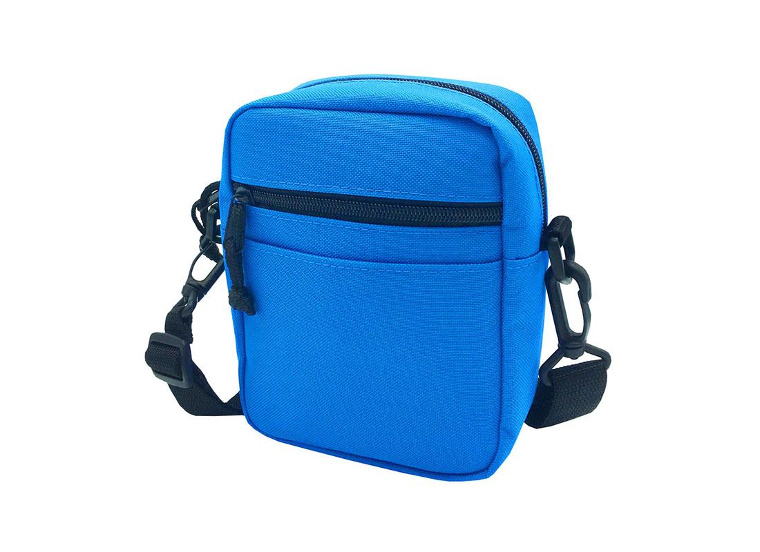 blue small shoulder bag R side