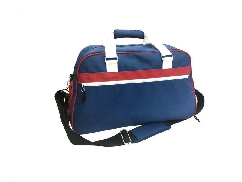 sport duffel in dark blue