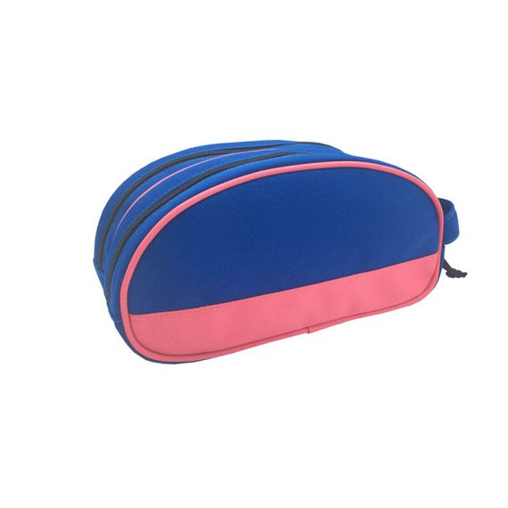 Two compartment toiletry bag