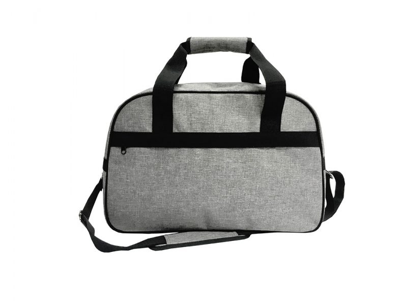 weekender bag for men in grey
