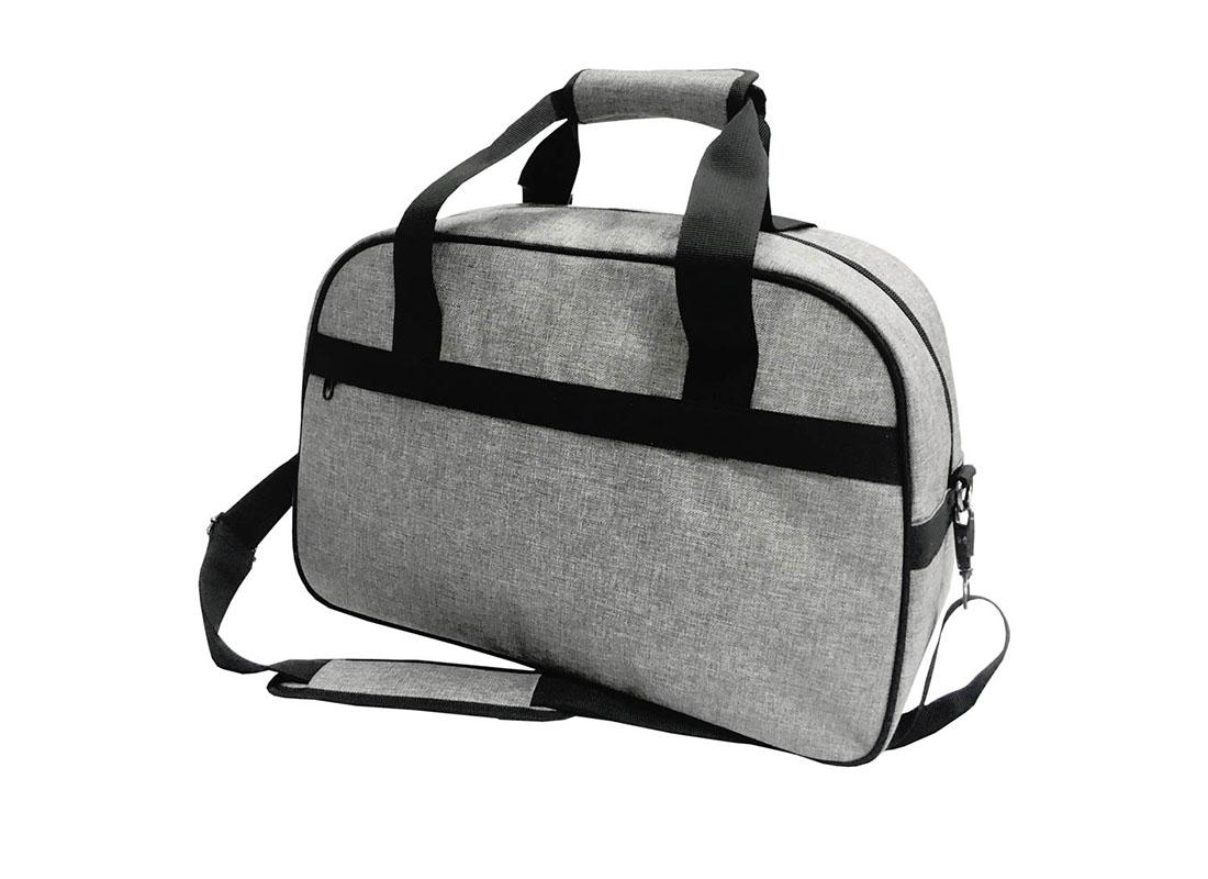 weekender bag for men in grey R side