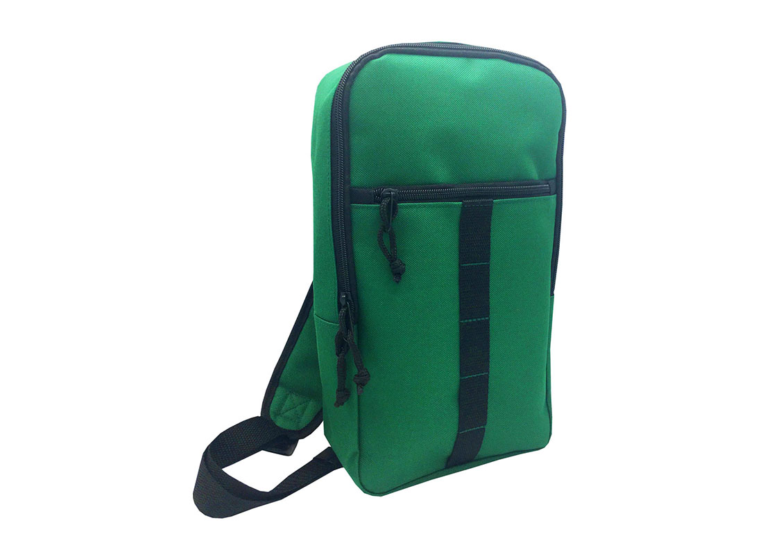 sling bag for men in green L side