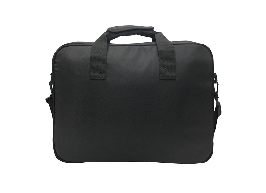 Laptop Briefcase in black back