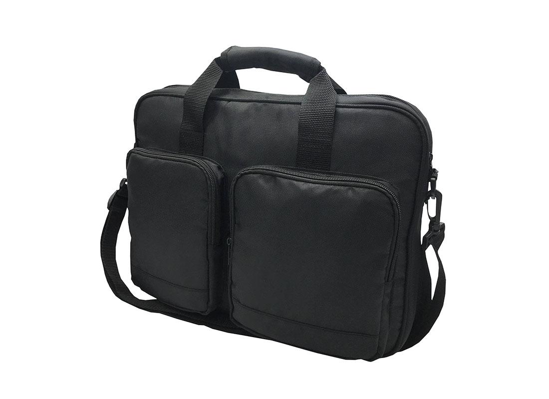 Laptop Briefcase in black R side