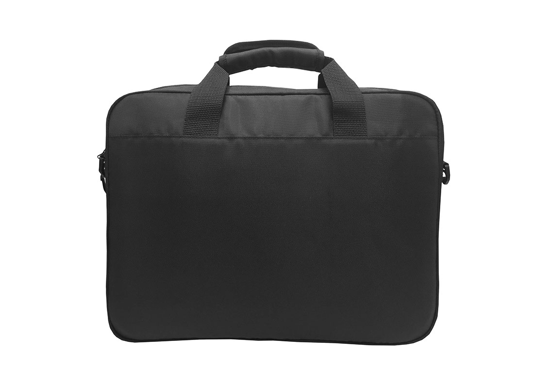 Black Laptop Bag Back