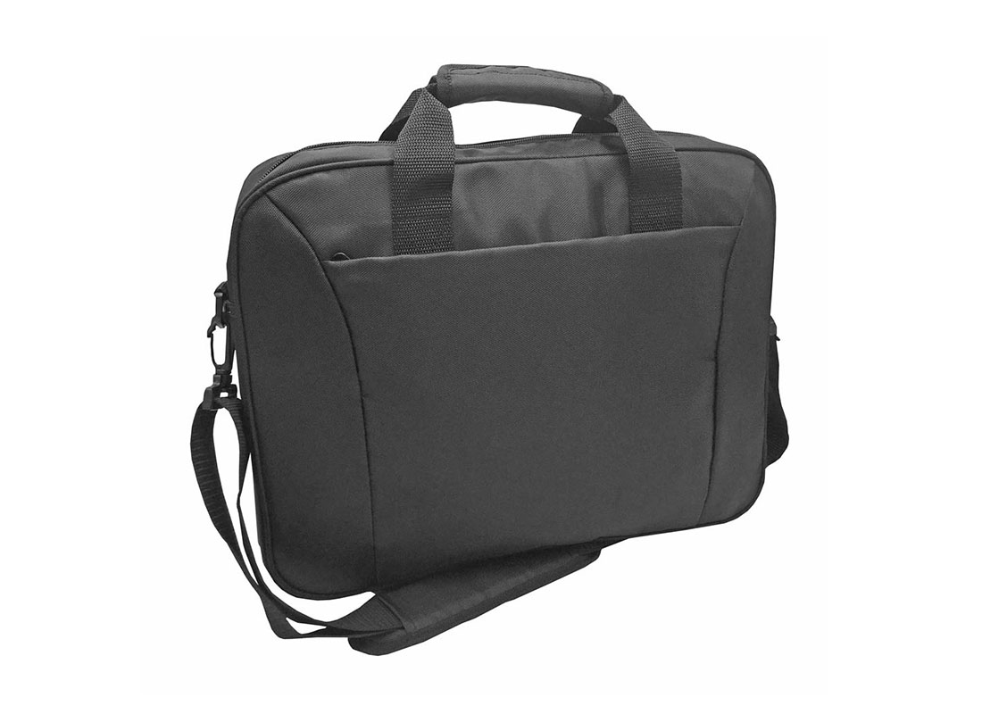Black Laptop Bag L side