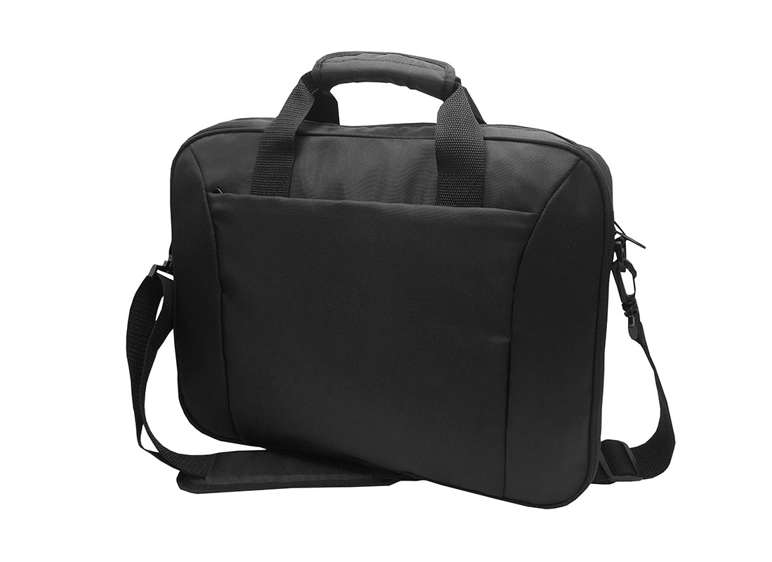 Black Laptop Bag R side