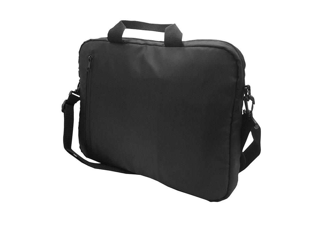 3 way laptop bag in black R side
