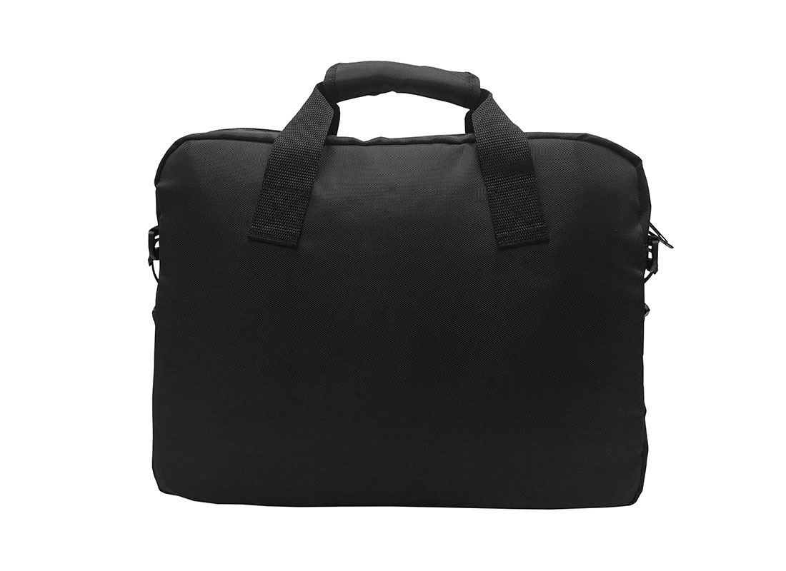 Padded Laptop Bag in Black Back