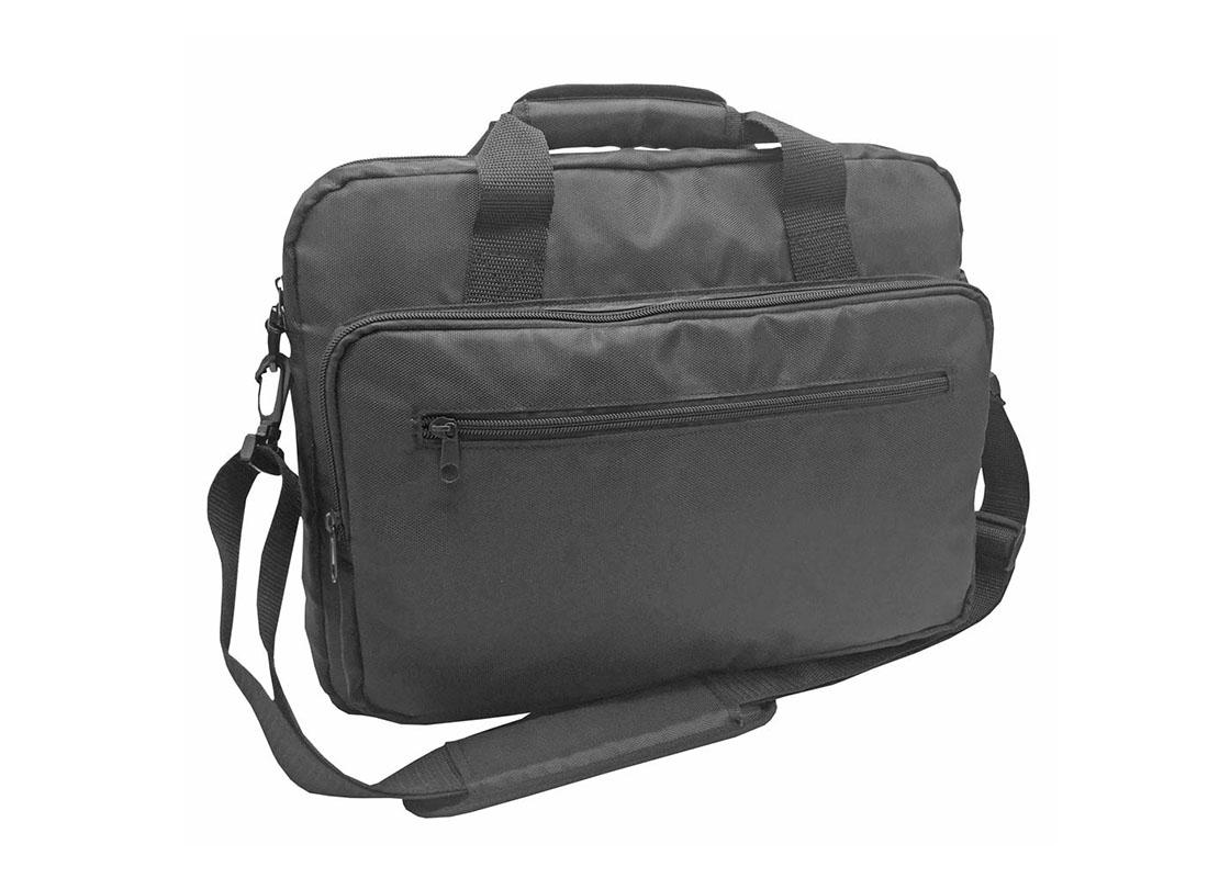 Padded Laptop Bag in Black L side