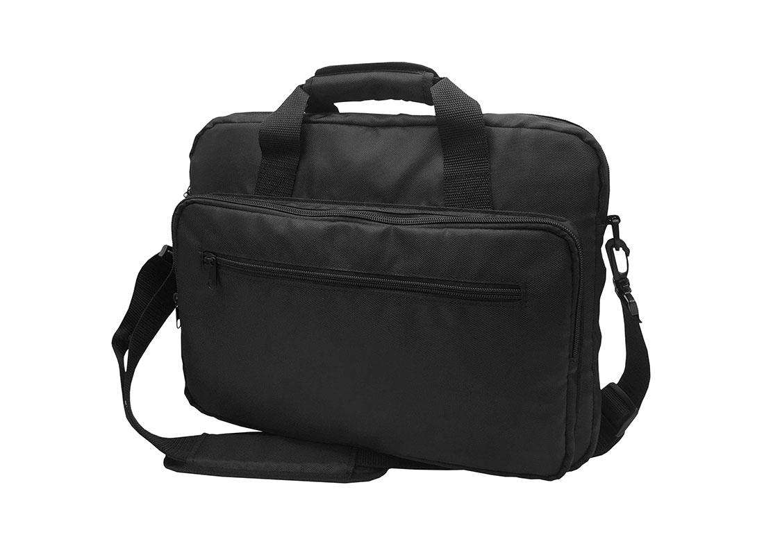 Padded Laptop Bag in Black R side