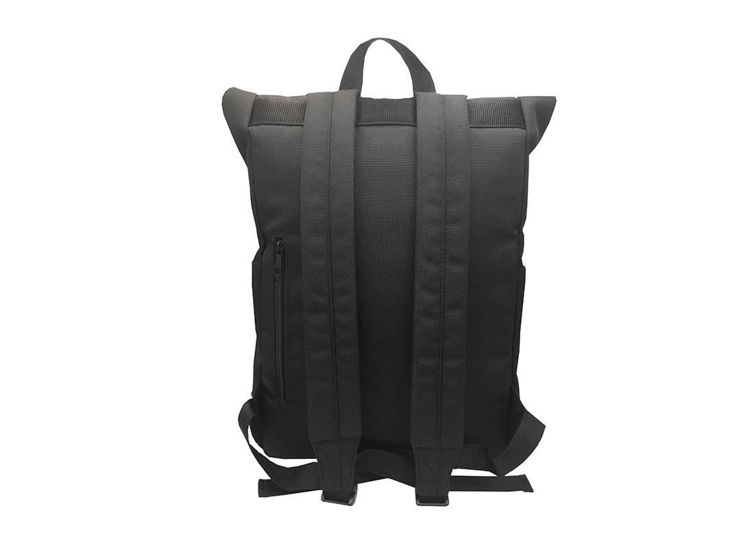 roll top laptop backpack back