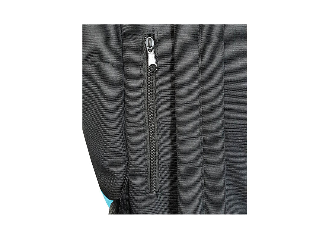 roll top laptop backpack back zipper