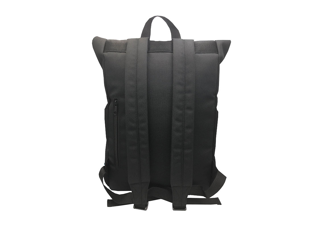 roll top laptop backpack back