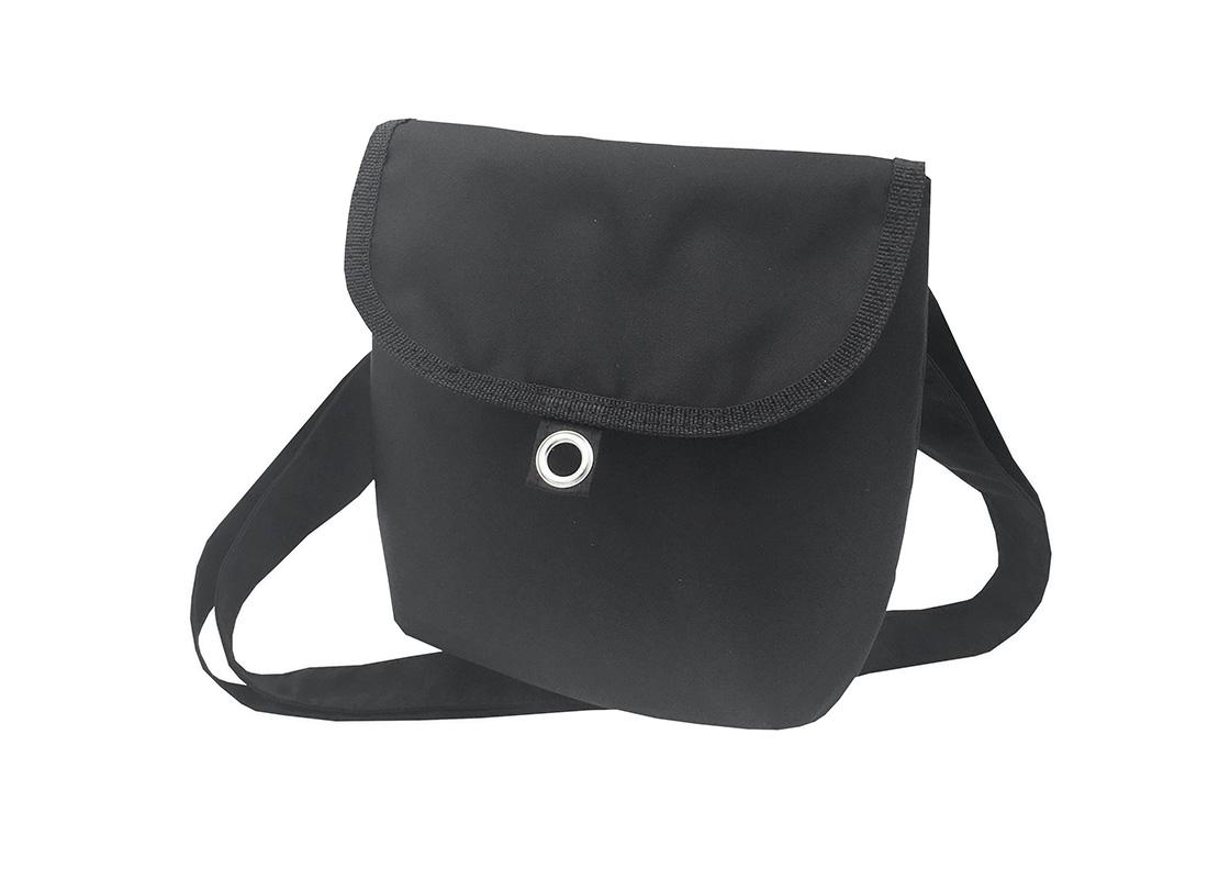 Mini cross body bag in Black R side