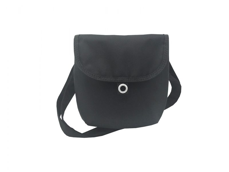 Mini cross body bag in Black front