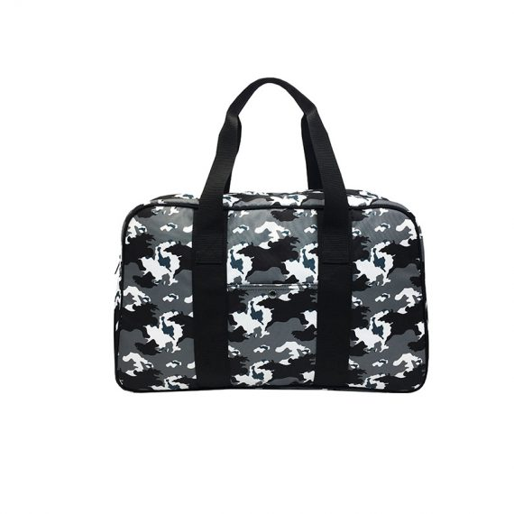 Camo duffel Bag weekender bag front