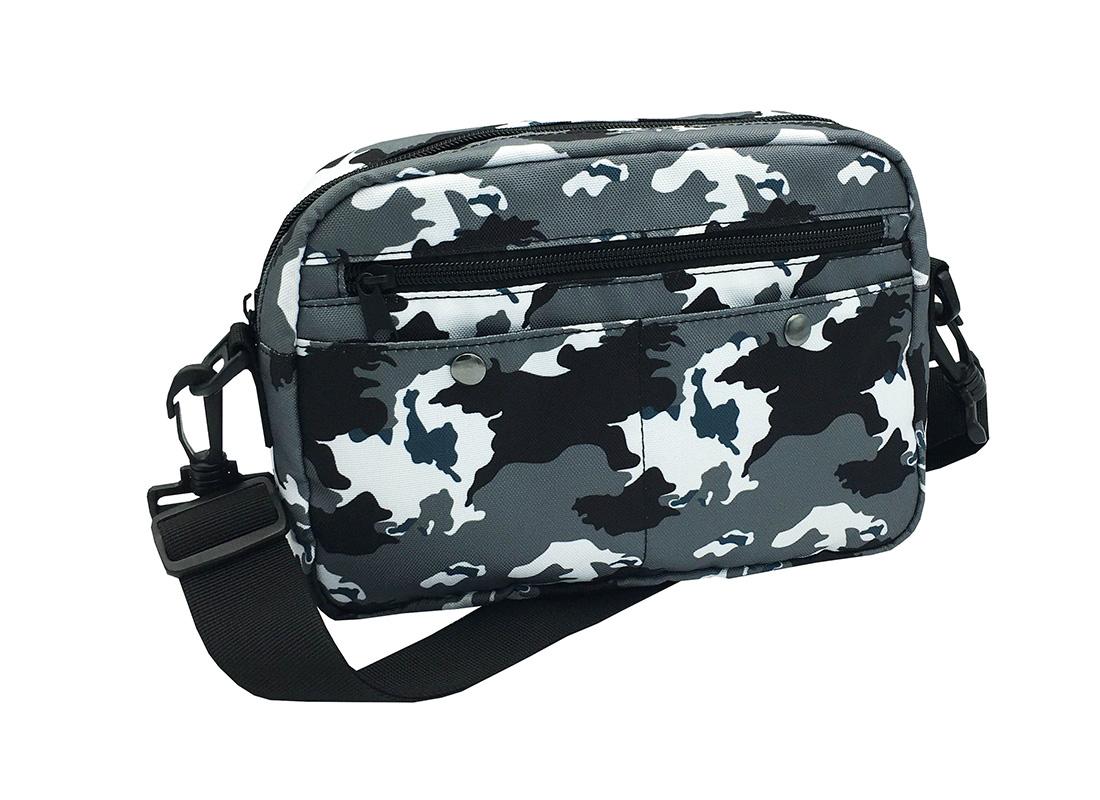 Camo CrossBody Bag L side