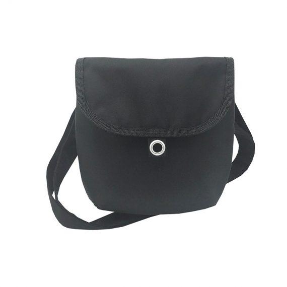 Mini cross body bag in Black front