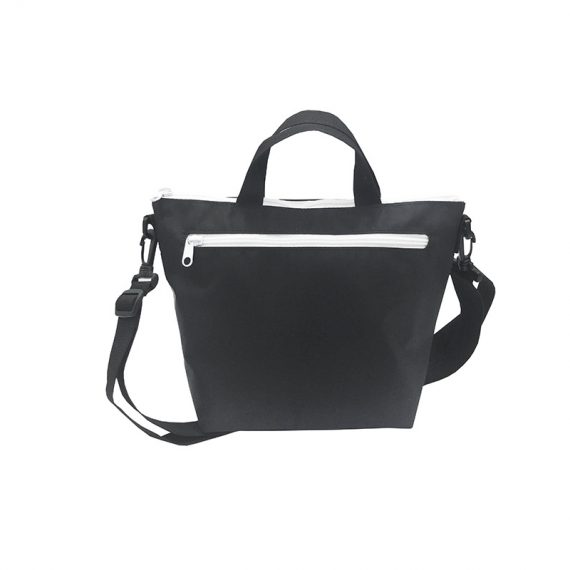 Simple Black Mini Tote Front