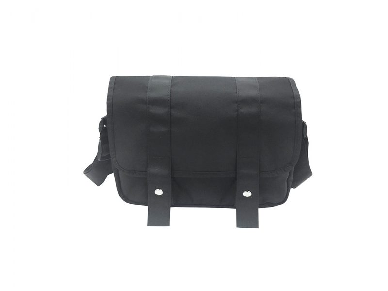 MIni Messenger Bag in Black Front