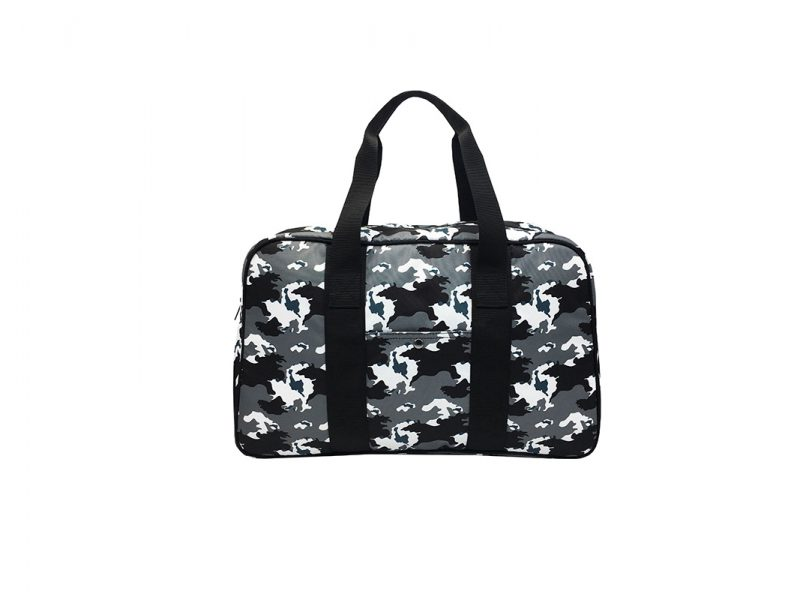 Camo duffel Bag weekender bag front