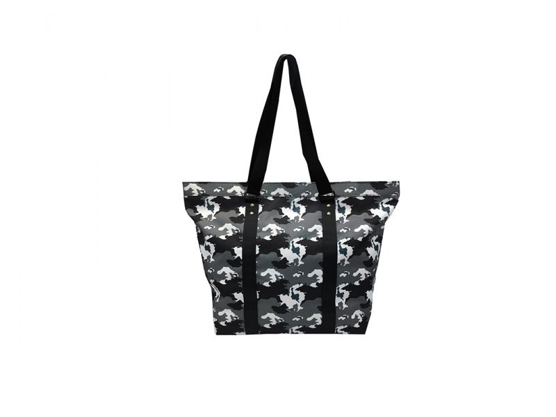 Large Camo Tote Bag Front