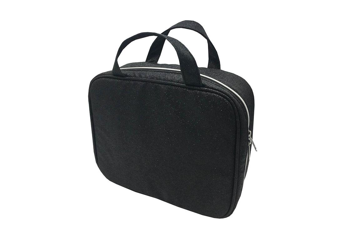 makeup bag pack with 3pcs pvc pouches inside R side