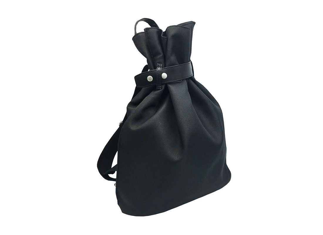 women black backpack L side