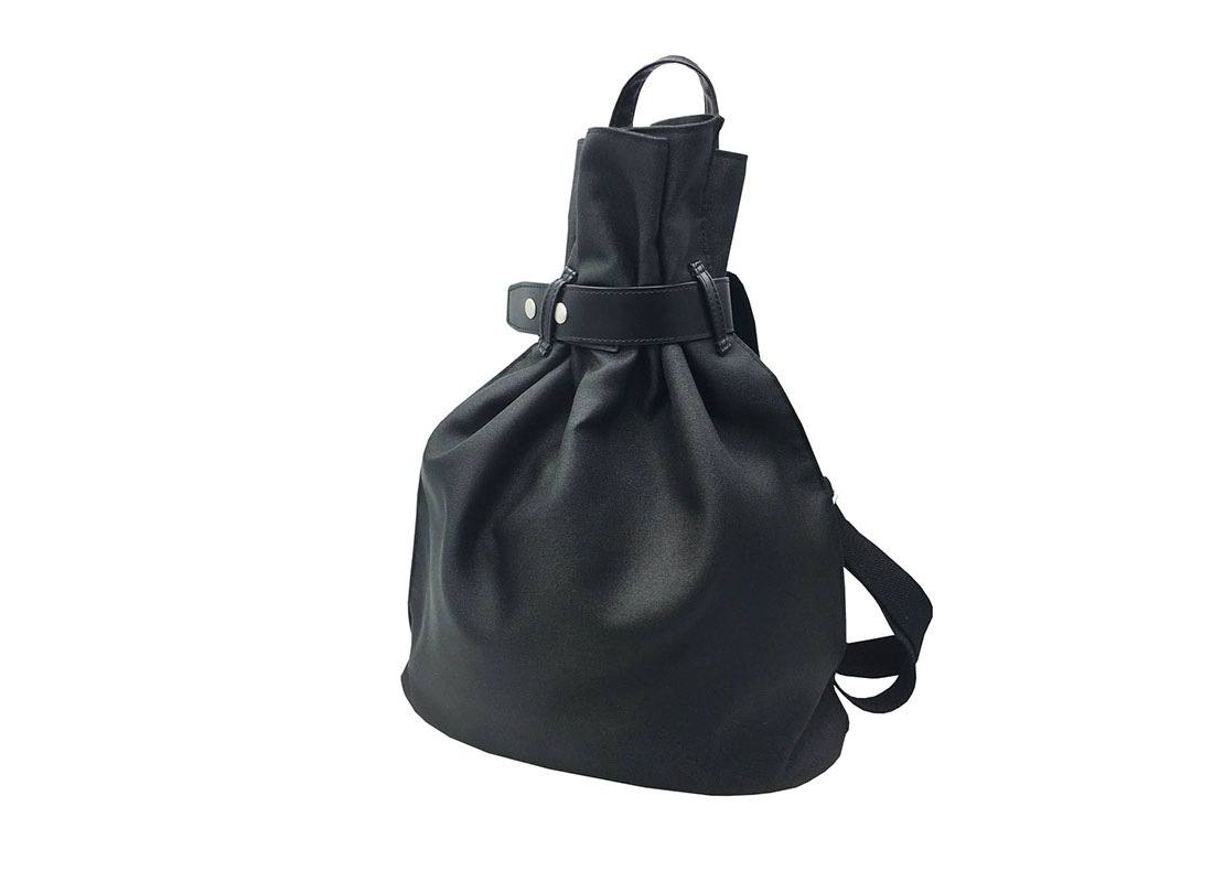 women black backpack R side