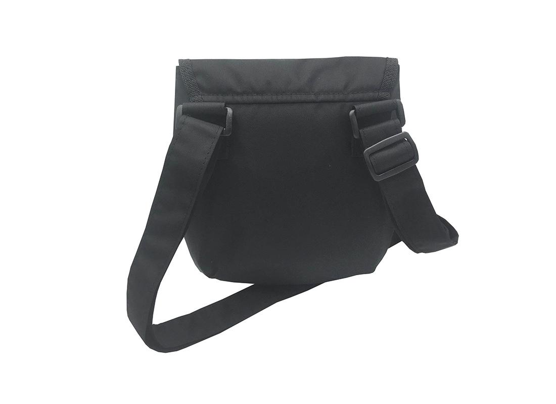 Mini cross body bag in Black back