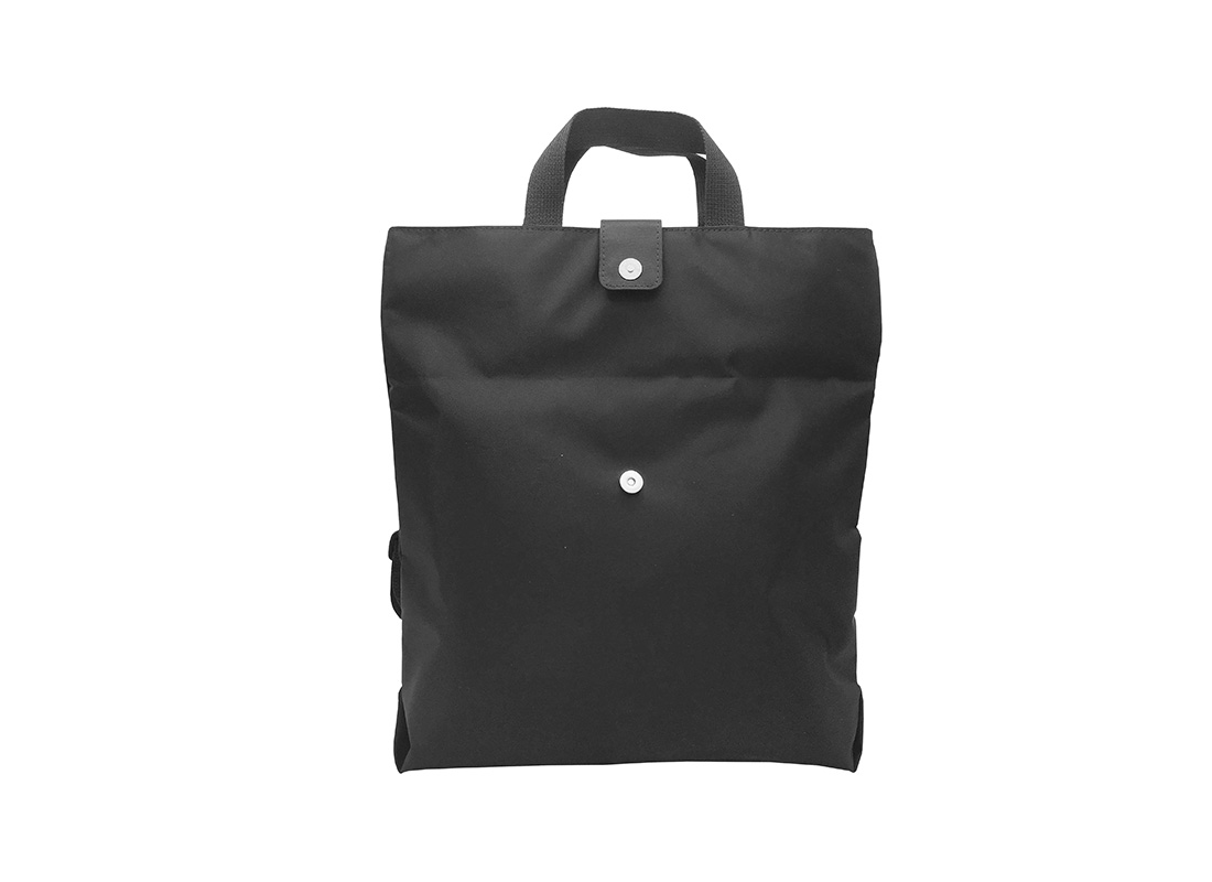 Flip Tote Bag Two Ways Bag Open front